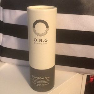 Other - New never used O.R.G. Skincare mineral peel 2 oz